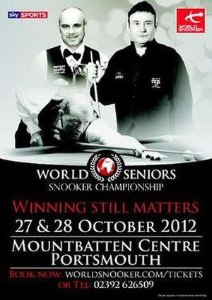 2012 World Seniors Championship - Image: 2012 World Seniors Championship poster