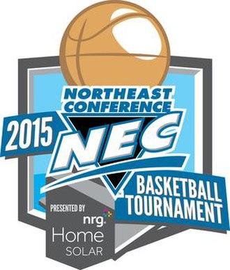 2015 Northeast Conference Men's Basketball Tournament - Image: 2015NECBasketball Logo