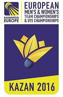 2016 European Mens and Womens Team Badminton Championships badminton championships