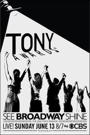 64th Tony Awards - 64th Tony Awards poster