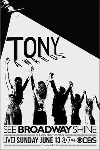 64th Tony Awards - 64th Tony Awards poster