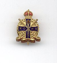 Lapel Badge - King's Crown