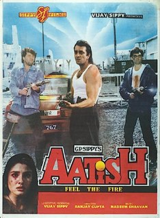 <i>Aatish: Feel the Fire</i> 1994 Indian film