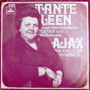 Ajax (song) - Image: Ajax, Ik krijg de kriebels (cover)