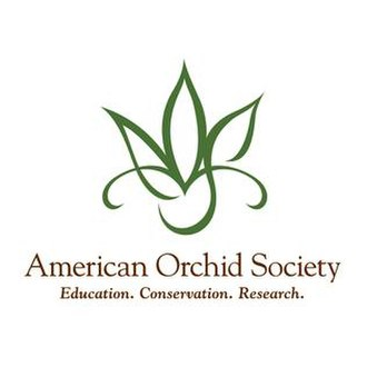American Orchid Society - Image: American Orchid Society (logo)