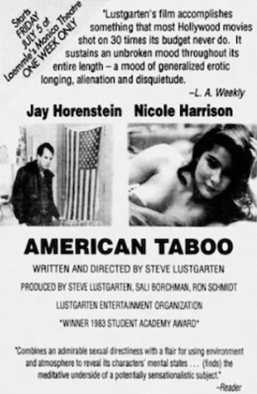 American Taboo