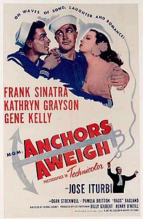 <i>Anchors Aweigh</i> (film) 1945 film by George Sidney