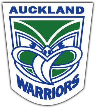 New Zealand Warriors - Original logo for the Auckland Warriors