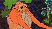 Treebeard, as portrayed in Ralph Bakshi's The Lord of the Rings.
