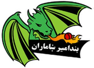 Band-e-Amir Dragons - Image: Band e Amir Dragons cricket team logo
