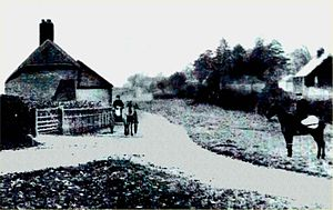Bentworth - Ivall's Cottage circa 1900