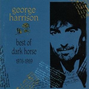 Best of Dark Horse 1976–1989 - Image: Best of Dark Horse (album cover)