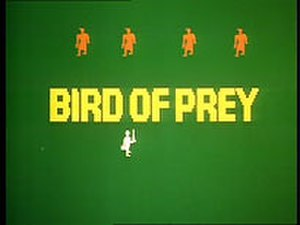 Bird of Prey (TV serial) - Freeze-frame from the computer block-graphic style animated title sequence