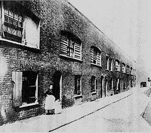 Old Nichol - Boundary Street in the Old Nichol, 1890.