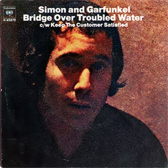 Bridge over Troubled Water (song) - Image: Bridge Over Troubled Water single