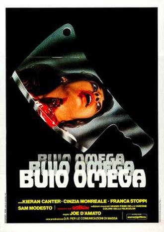 Beyond the Darkness (film) - Italian film poster by Renato Casaro