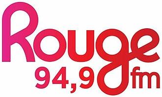 CIMF-FM - Image: CIMF Rouge FM 94.9 logo