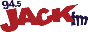 CKCK-FM - Old logo as 94.5 Jack FM