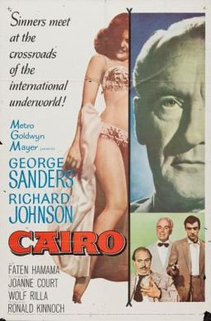 Cairo (1963 film) - Theatrical release poster