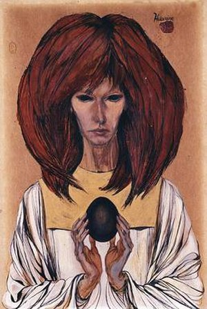 Marjorie Cameron - Image: Cameron's The Black Egg