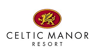 Celtic Manor Resort Golf, spa and leisure hotel and resort in Newport, south Wales