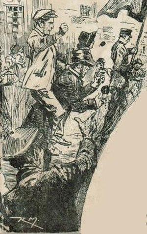 Charles Jeffries - Jeffries as a 'Skeleton' in 1881