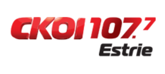 CKOY-FM - CKOI 107.7 logo, used during 2011-2012.