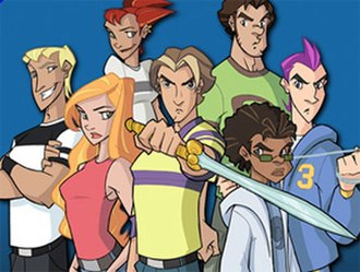 Class of the Titans - The Chosen Ones. Clockwise from center: Jay, Theresa, Neil, Atlanta, Herry, Archie, and Odie.