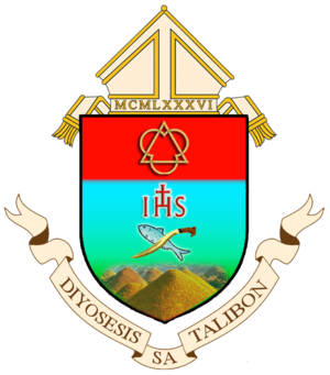 Roman Catholic Diocese of Talibon - Image: Coat of Arms of Diocese of Talibon