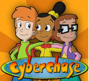 Cyberchase - From left to right: Matt, Jackie and Inez