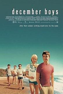 <i>December Boys</i> 2007 Australian film directed by Rod Hardy