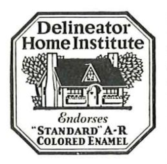 The Delineator - Seal of approval of the Delineator Home Institute