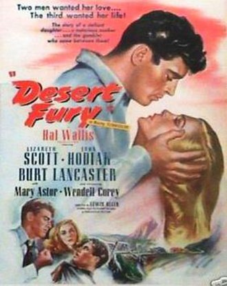 Desert Fury - Theatrical release poster