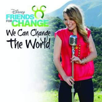 Disney's Friends for Change - Image: Disney We Can Change the World cover