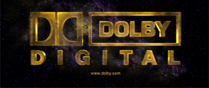 Dolby Digital - Dolby Digital logo that is sometimes shown at the start of broadcasts, feature films, and video games