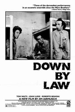 Down by Law (film) - Promotional poster