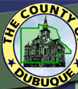 Dubuque County, Iowa - Image: Dubuque County Seal