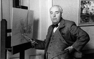 Edmund Blampied - The artist in 1938
