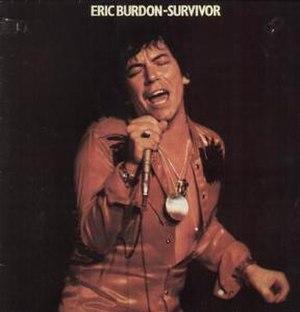 Survivor (Eric Burdon album) - Image: Eric burdon survivor