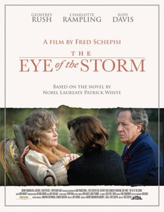 The Eye of the Storm (2011 film) - Promotional poster