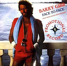 Face to face by barry gibb and olivia newton john.jpg