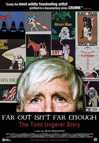 Far Out Isn't Far Enough: The Tomi Ungerer Story - Official Poster