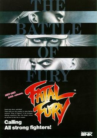 Fatal Fury: King of Fighters - North American Arcade flyer