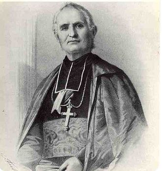 "Joseph Favre - Félix Dupanloup, Bishop of Orléans, who found Favre's cooking ""diabolically good"""