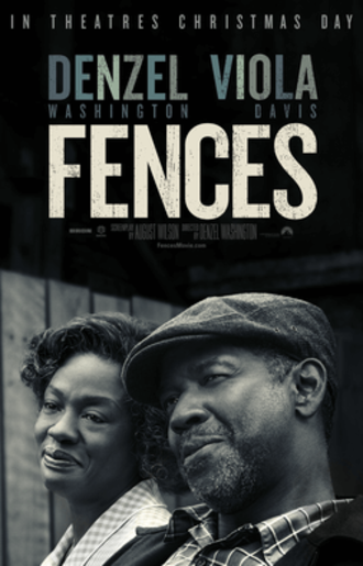 Fences (film) - Theatrical release poster