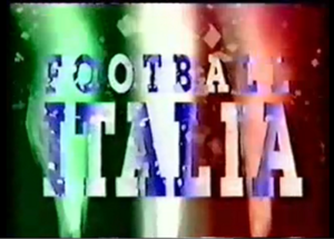Football Italia - Title card from April 1995