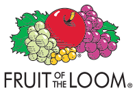 Fruit of the Loom logo.