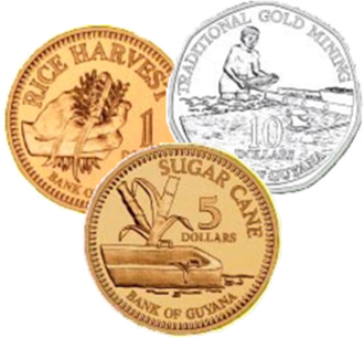 Guyanese dollar - Image: GY Dcoins
