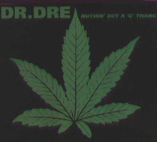 Nuthin but a G Thang 1992 single by Dr. Dre featuring Snoop Doggy Dogg