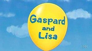 Gaspard and Lisa (TV series) - Gaspard and Lisa title card